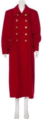 Christian Dior Long Sleeve Long Coat
