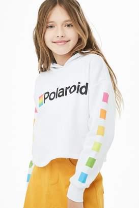 Forever 21 Girls Polaroid Graphic Hoodie (Kids)