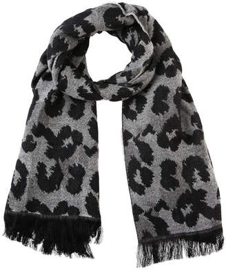 Miss Shop Animal Jacquard Winter Scarf