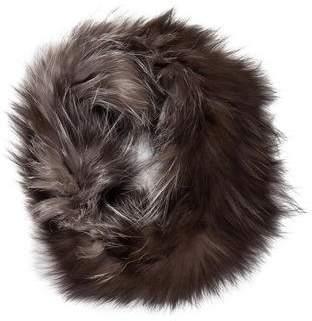Adrienne Landau Fox Fur Snood
