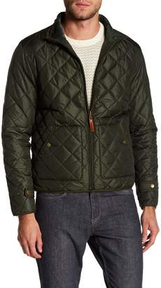 Knowledge Cotton Apparel Full Zip Quilted Reversible Jacket