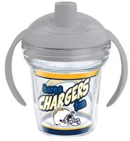 Tervis NFL Los Angeles Chargers Born A Fan 6oz Sippy Cup with Lid