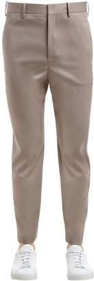 Neil Barrett 16cm Stretch Tencel Blend Pants