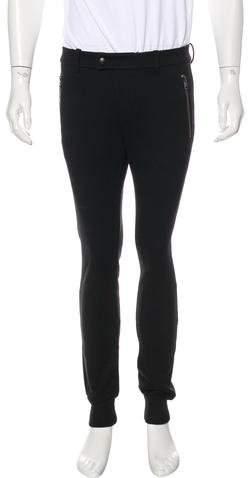 Moncler Pantalone Flat Front Joggers