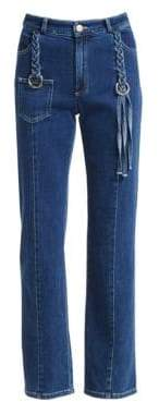 See by Chloe Braided Straight Jeans