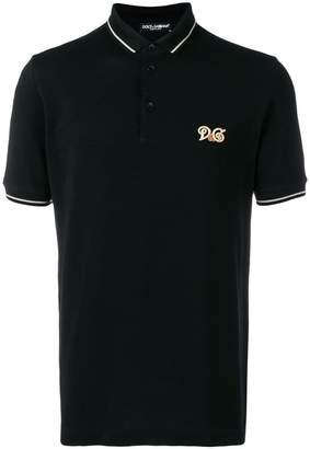 Dolce & Gabbana logo short-sleeve polo shirt