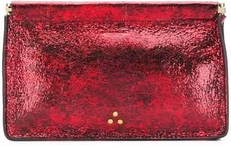 Jerome Dreyfuss pebbled textured clutch