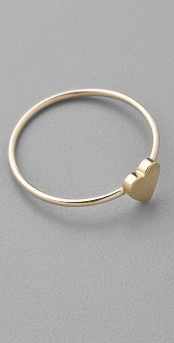 Jennifer Meyer Jewelry Heart Ring