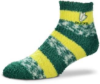 For Bare Feet Women's Oregon Ducks Pro Stripe Sleep Socks