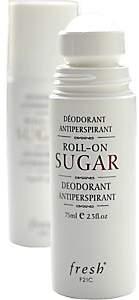 Fresh Men's Roll-On Sugar Deodorant Antiperspirant