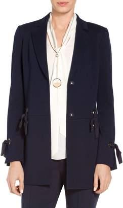 St. John Circular Milano Knit Blazer