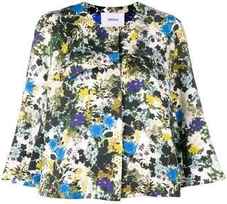 Erdem floral cropped jacket
