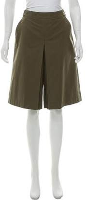 Loro Piana High-Rise Tailored Culottes