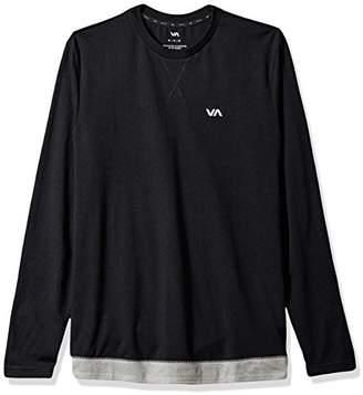 RVCA Men's Runner Mesh Long Sleeve Shirt