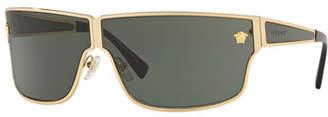 16cb3f9b8a28f Versace Men s Metal Rectangle Sunglasses