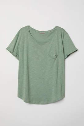 H&M H&M+ Modal-blend T-shirt - Green
