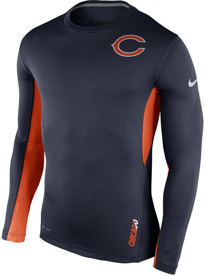Nike Men's Long-Sleeve Chicago Bears Vapor T-Shirt