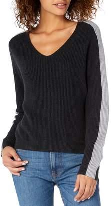 Michael Stars Colorblock Knit Sweater