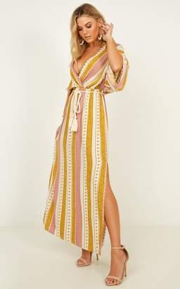 Showpo Nice Things dress in multi print - 8 (S) Sale Dresses