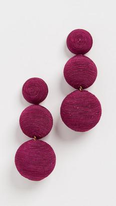 Rebecca De Ravenel Classic 3 Drop Earrings