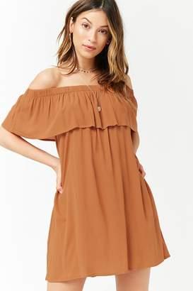 Forever 21 Flounce Off-the-Shoulder Dress