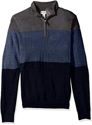 Dockers Quarter Zip Soft Acrylic Sweater