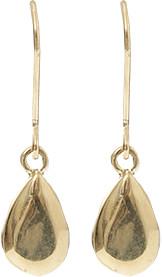 Carolina Bucci Looking Glass Pear Drop Earrings