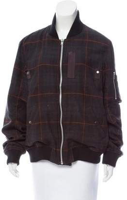 Sacai Wool Bomber Jacket