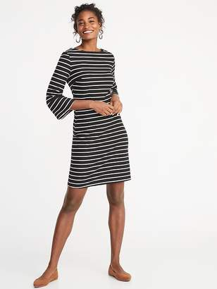 Old Navy Striped Textured Sheath Dress for Women