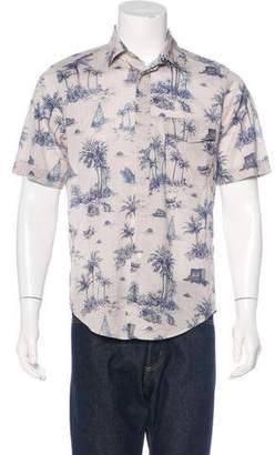 Louis Vuitton Monogram Print Shirt