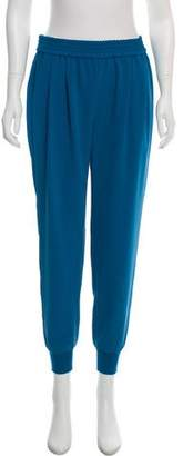 Joie Pleated Mid-Rise Joggers