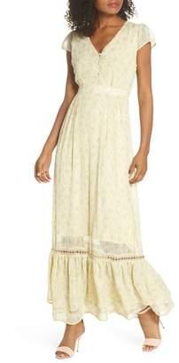 FIRST MONDAY Floral Maxi Dress