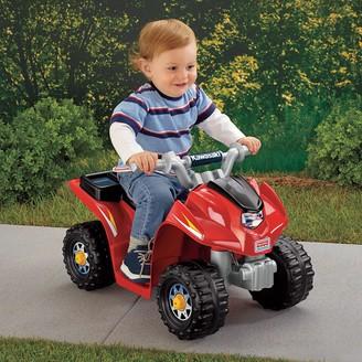 Fisher-Price Power Wheels Kawasaki Ride-On 6V Lil' Quad by