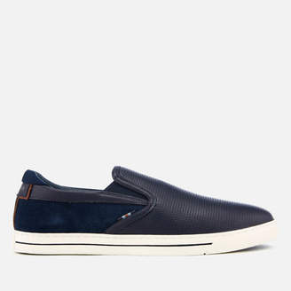 Ted Baker Men's Wlador Leather/Suede Slip-On Trainers