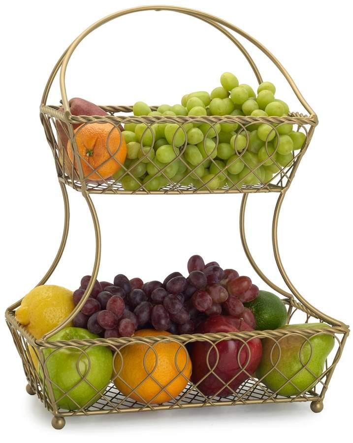 Gourmet Basics 2-Tier Basket