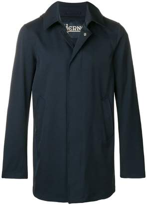 Herno mid-length single breasted coat