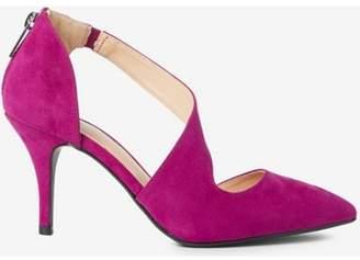 Dorothy Perkins Womens Wide Fit Magenta 'Ella' 'Court Shoes