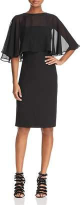 Nanette Lepore nanette Chiffon Overlay Dress