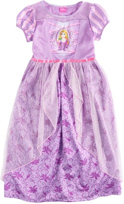 Disney Disney's Rapunzel Girls 4-8 Sparkly Dress-Up Nightgown