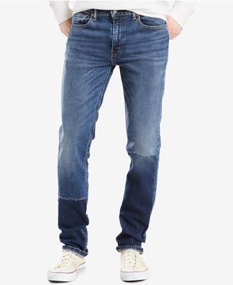 Levi's Men's 511 Slim-Fit Pieced Jeans $69.50 thestylecure.com