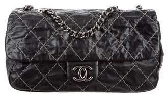 Chanel Double Stitch Jumbo Flap Bag