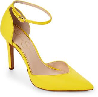 Jessica Simpson Sour Lemon Ankle Strap Pumps