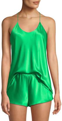 Olivia Von Halle Bella Apple Camisole Shorty Pajama Set