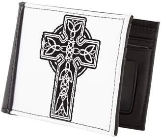 Celtic Royal Lion Men's Wallet Billfold Cross