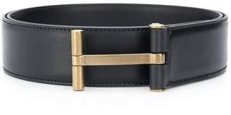 Tom Ford logo buckle belt