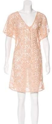 Marc Jacobs Open Crocheted Mini Dress