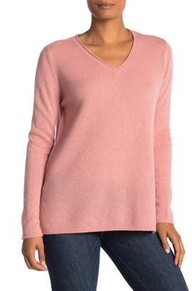 Magaschoni M BY V-Neck Oversized Cashmere Sweater