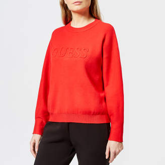 GUESS Women's Long Sleeve Audrey Sweatshirt