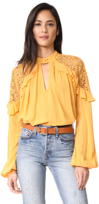 Free People Little Bit Of Love Top $108 thestylecure.com