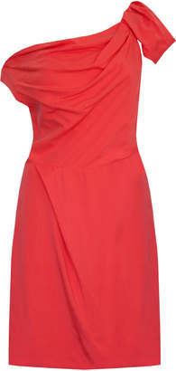 Jovonna London Red Noa Off Shoulders Dress - UK8 - Red